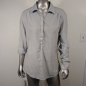 Columbia Lighten The Mood Tunic Shirt Top Gray M